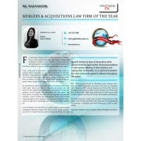 Mergers and Acquisitions Law Firm of the Year (2013)