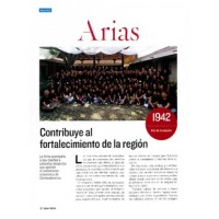 Vida y Éxito. Arias contributes to the strengthening of the region.