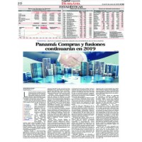 Capital Financiero: Panama - Purchases and mergers will continue in 2019.
