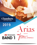 "Arias remains ""Band 1"" in Chambers Latin America 2019"